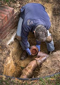 sewer repair crowley tx