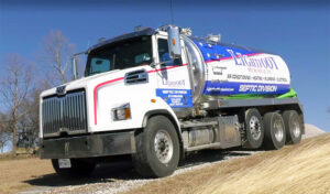 septic tank cleaning truck in Weatherford, TX