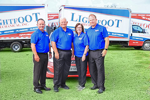 Gary, Lewis, Vickie, and Stephen Lightfoot, Owners of Lightfoot